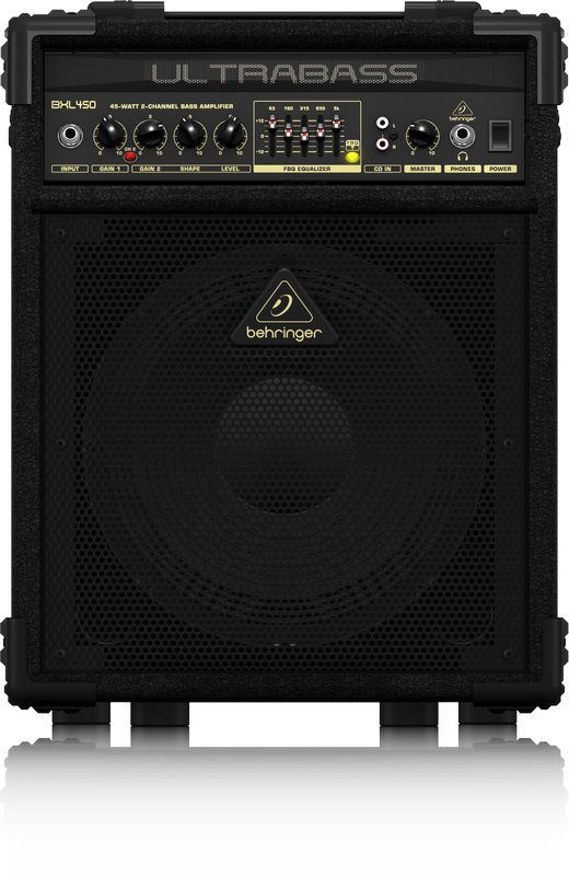 Caixa Amplificada Behringer Ultrabass BXL450 45W 1x10