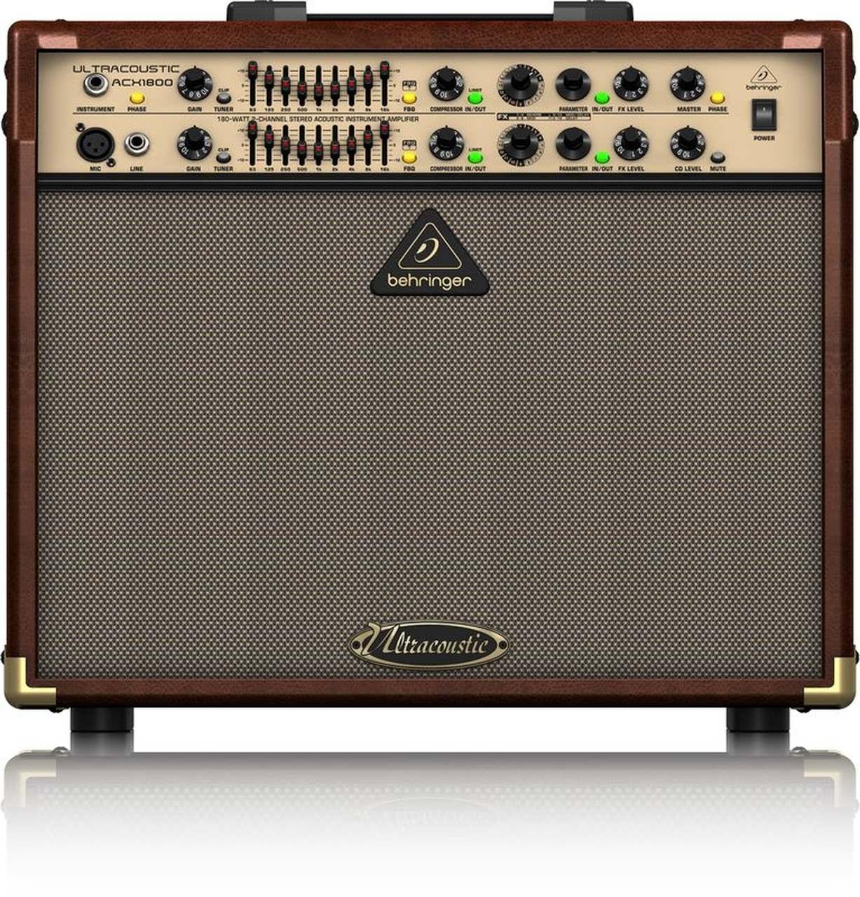 Caixa Amplificada Behringer Ultracoustic ACX1800 180W 2x8