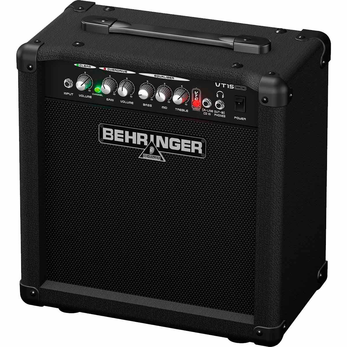 Caixa Amplificada Behringer VIRTUBE VT15CD 15W 1x8