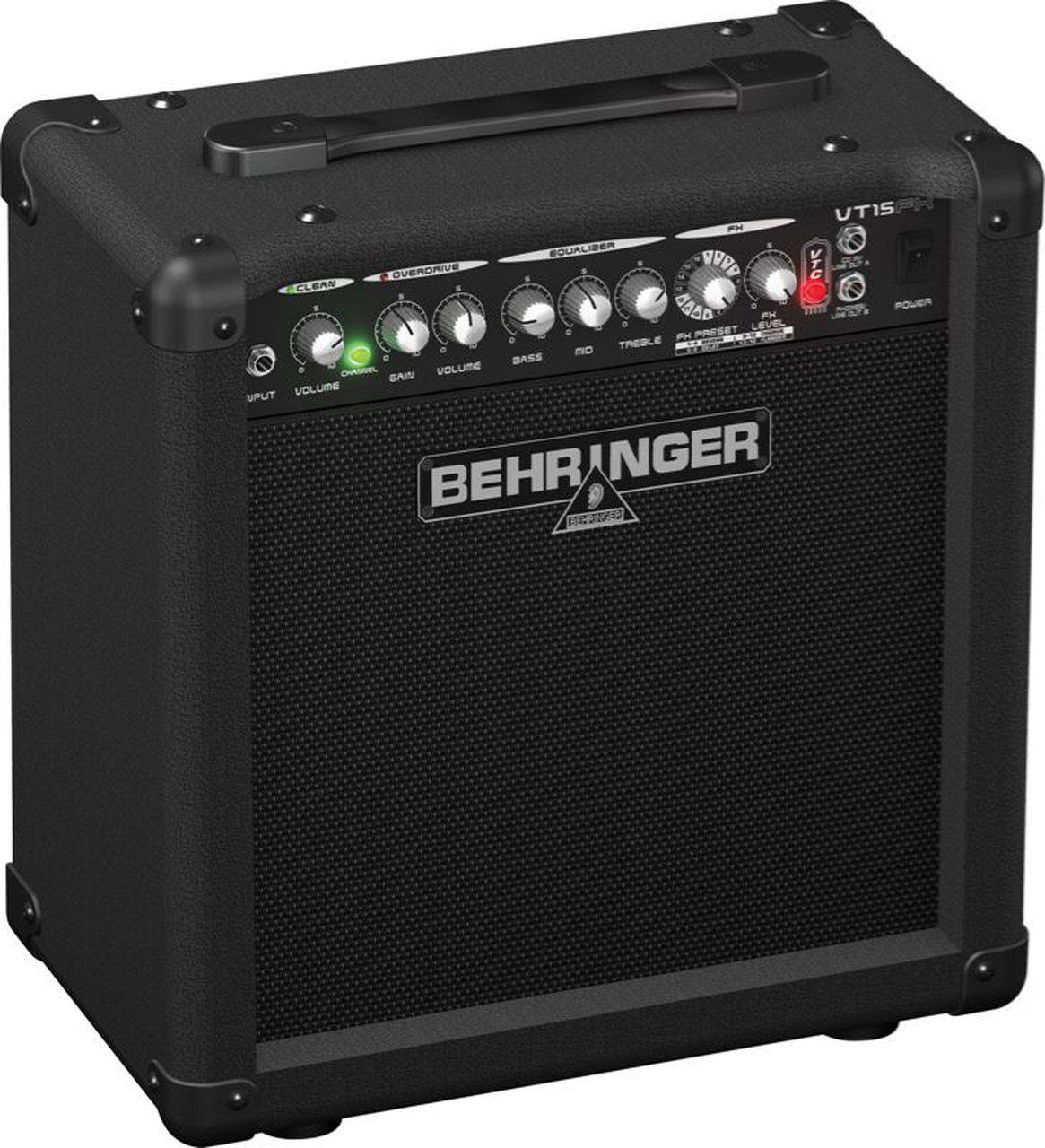 Caixa Amplificada Behringer VIRTUBE VT15FX 15W 1x8