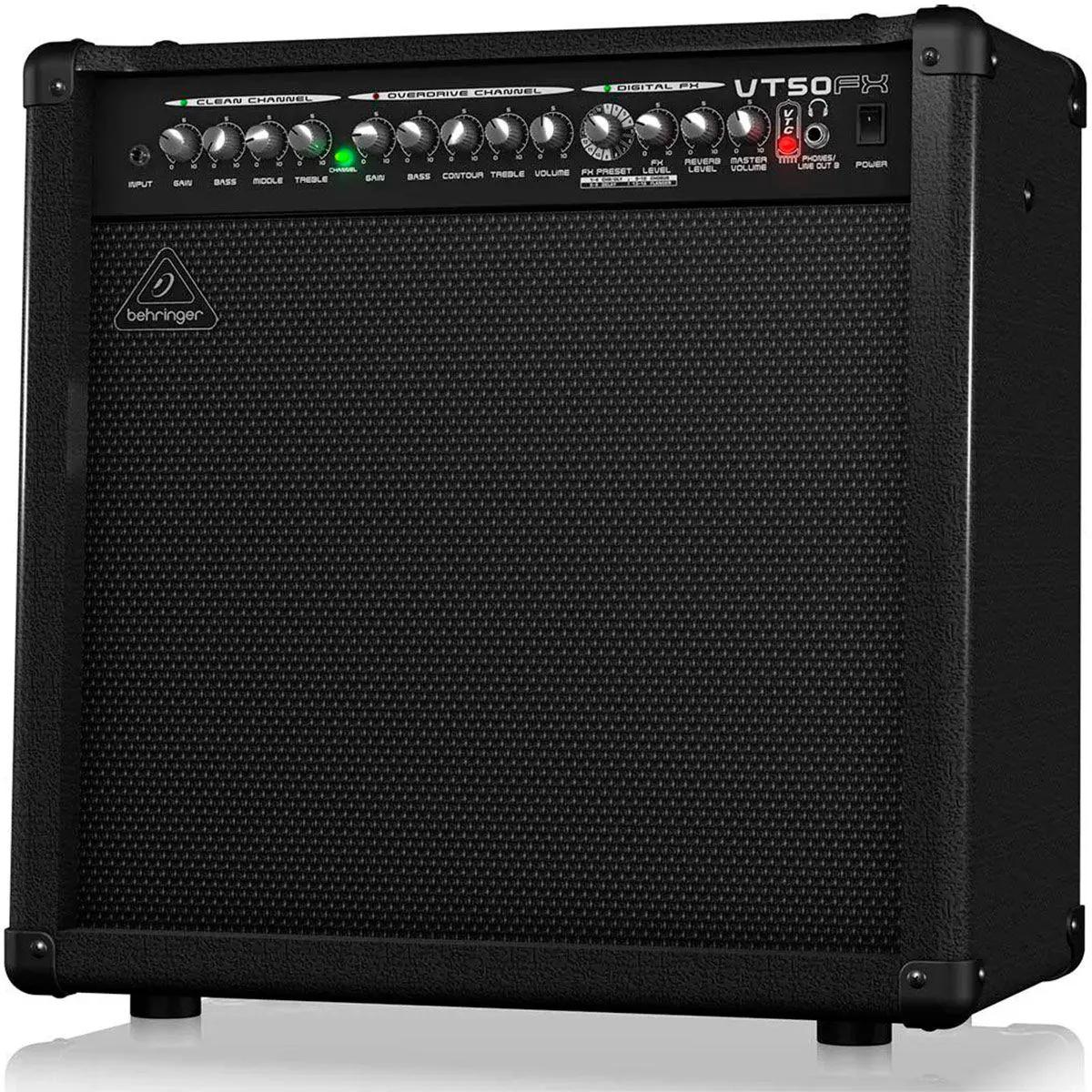Caixa Amplificada Behringer Virtube VT50FX 50W 1x12