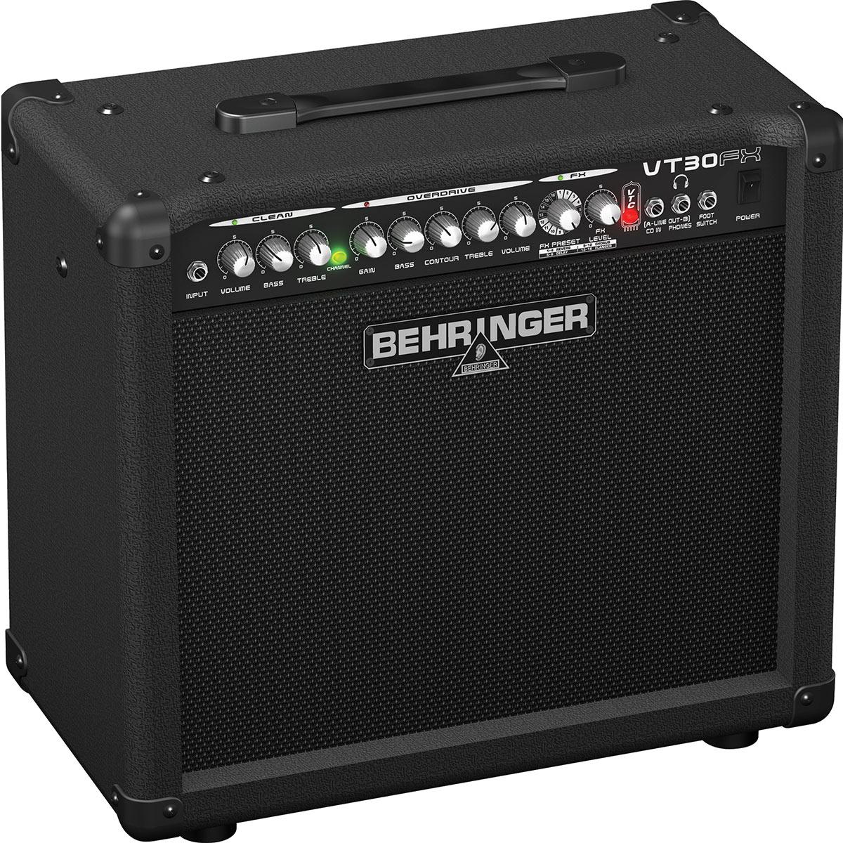 Caixa Amplificada Behringer VT30FX 110W 1x10