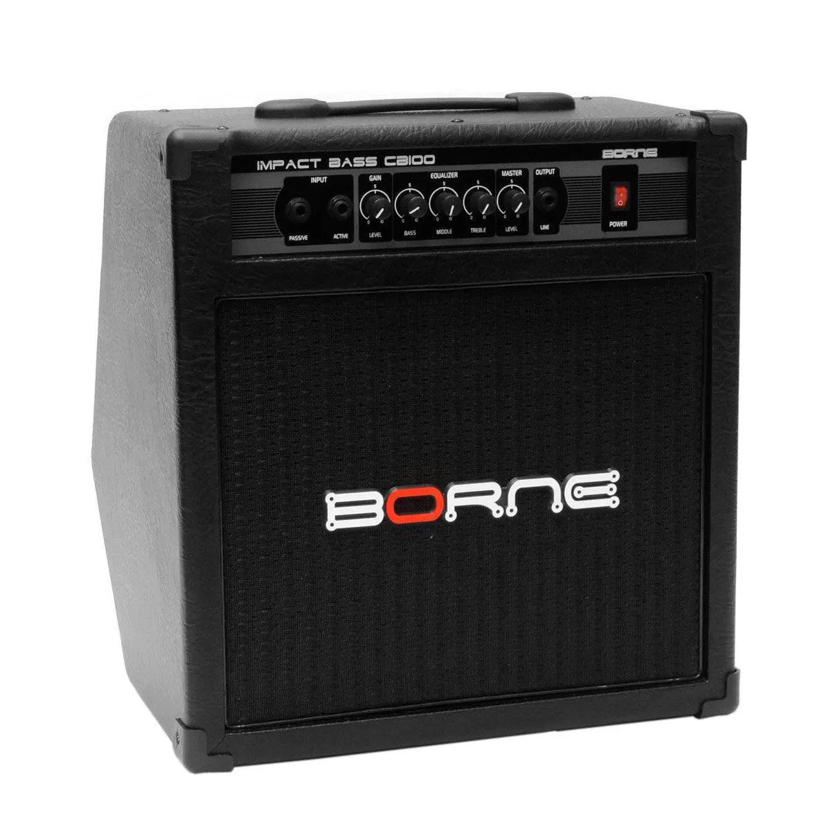 Caixa Amplificada Borne Impact Bass CB100 1x10 70W