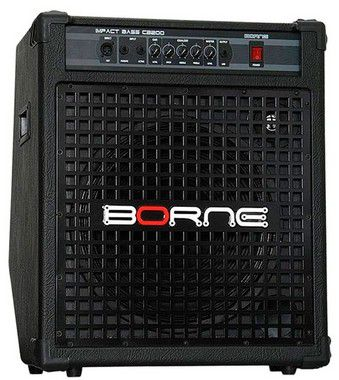 Caixa Amplificada Borne Impact Bass CB200 1x15