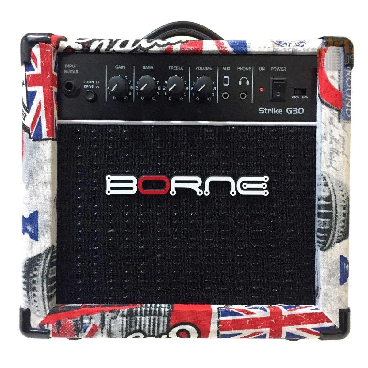 Caixa Amplificada Borne Strike G30 1x6,5 15 RMS London
