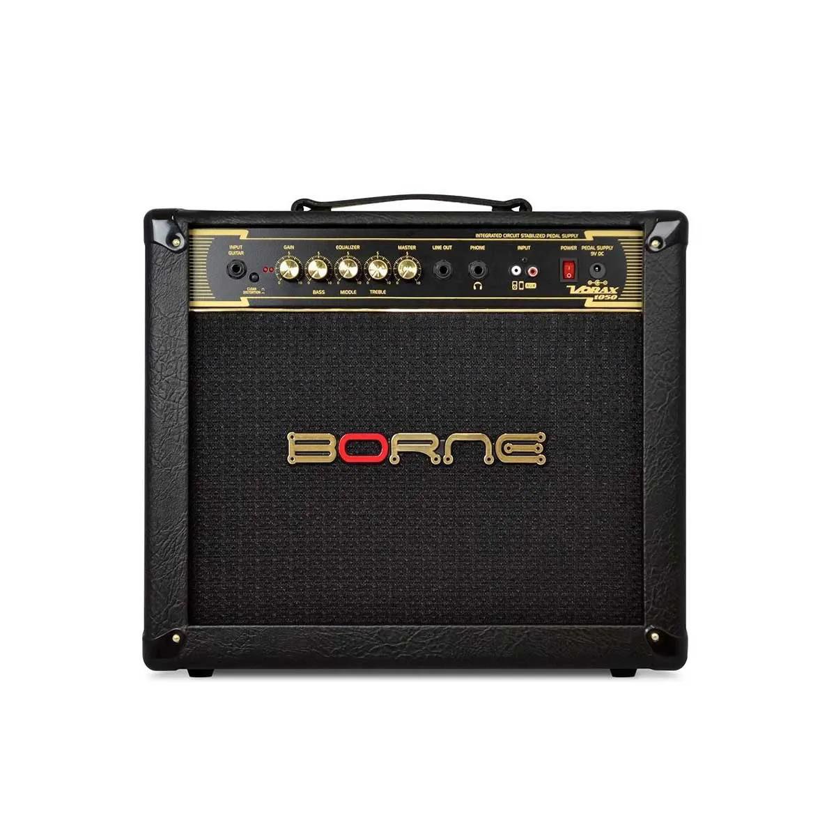 Caixa Amplificada Borne Vorax 1050 1x10 50W para Guitarra