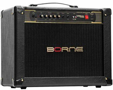 Caixa Amplificada Borne Vorax 12100 1x12'' 100W RMS