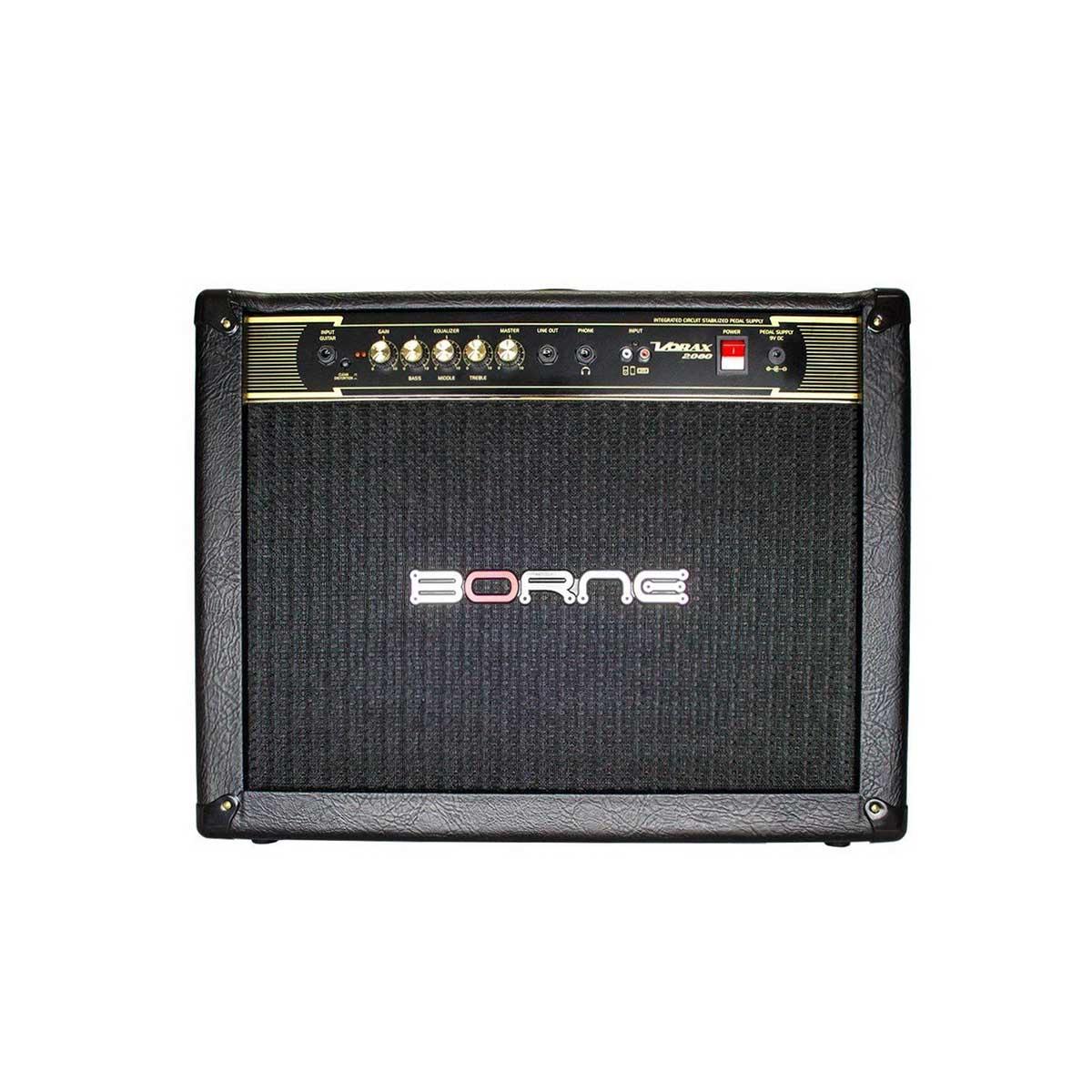 Caixa Amplificada Borne Vorax 2080 2x8 60w RMS para Guitarra