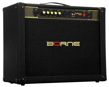Caixa Amplificada Borne Vorax 2100 2x10'' 100W RMS