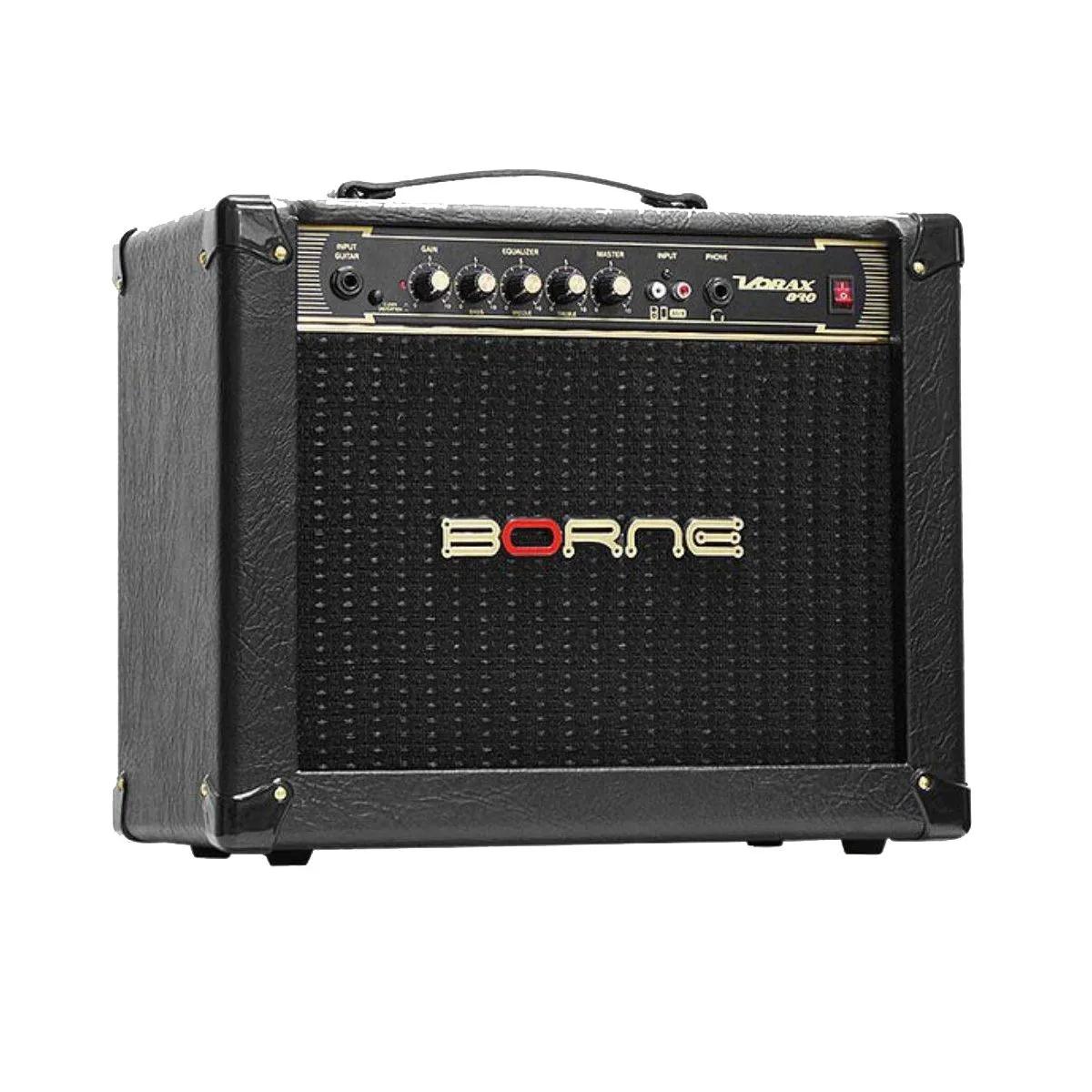 Caixa Amplificada Borne Vorax 840 1x8 40w RMS para Guitarra