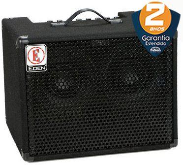 Caixa Amplificada Eden EC28 Bass Combo 180w 2x8 para Contrabaixo
