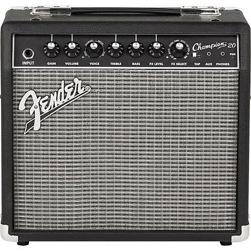 Caixa Amplificada Fender Champion 20 20W 1x8''