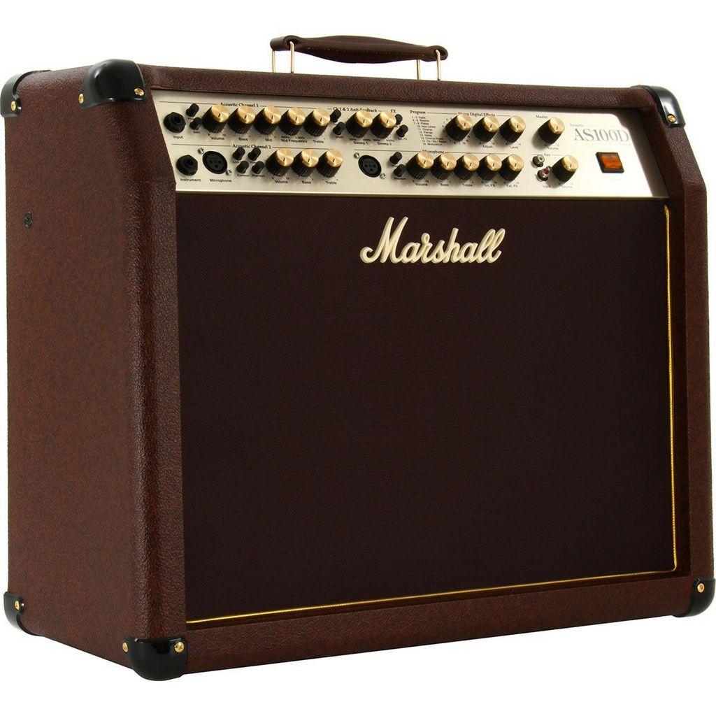 Caixa Amplificada Marshall AS100D Acoustic 100W 2x8 para Violão