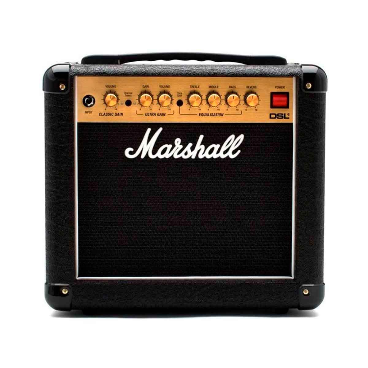 Caixa Amplificada Marshall DSL1CR 1W 110V para Guitarra