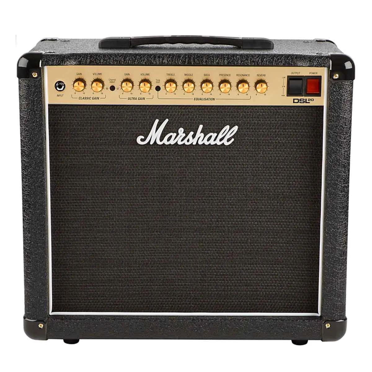Caixa Amplificada Marshall DSL20CR 20W 1x12 para Guitarra