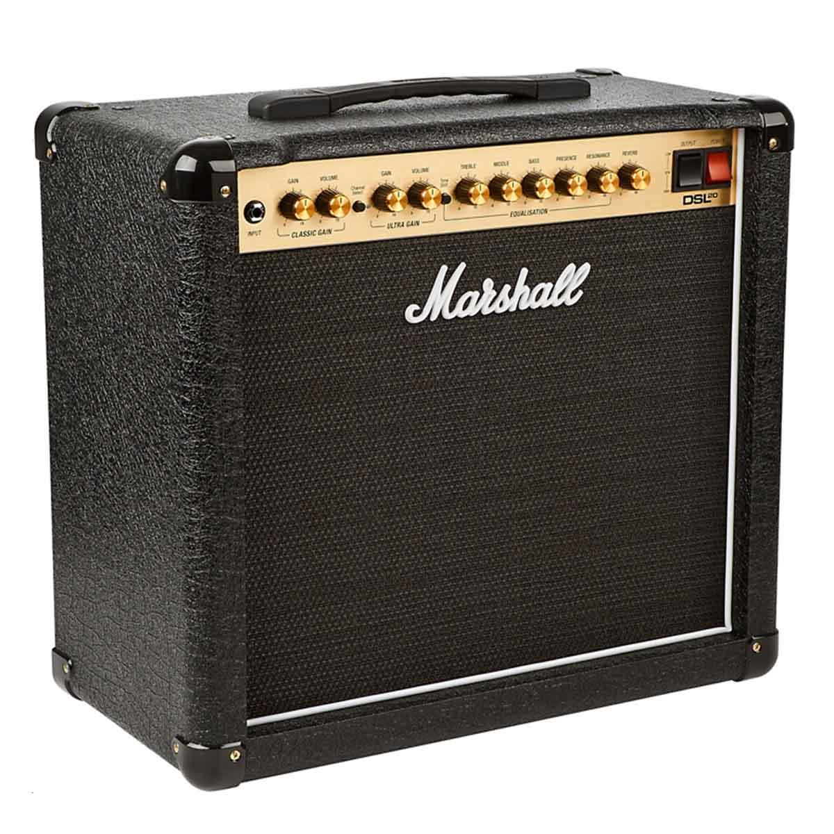 Caixa Amplificada Marshall DSL20CR 20W 1x12 110V para Guitarra