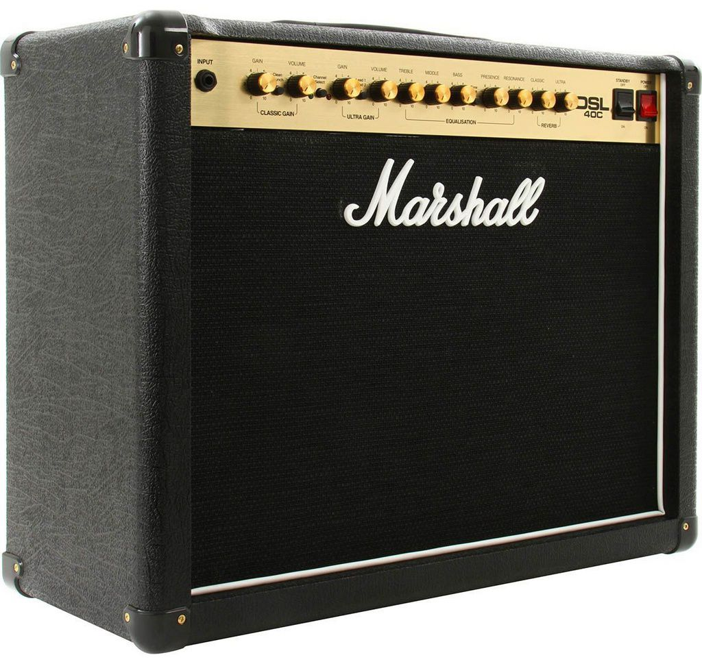Caixa Amplificada Marshall DSL40C 40W 1x12 para Guitarra