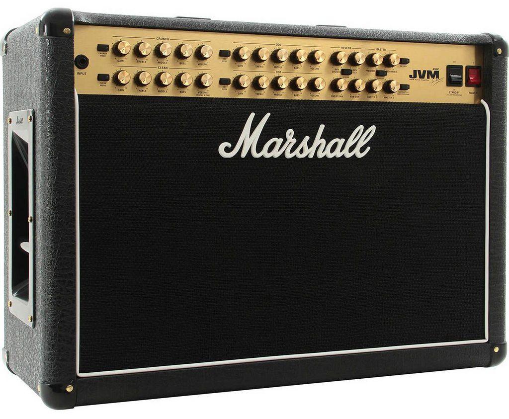Caixa Amplificada Marshall JVM410C 100w 2x12 para Guitarra