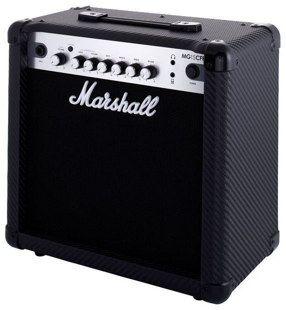 Caixa Amplificada Marshall MG15CFR 15W 1x8 MG Series para Guitarra