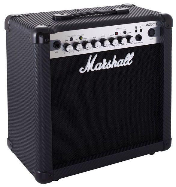 Caixa Amplificada Marshall MG15CFX 15W 1x8 MG Series para Guitarra