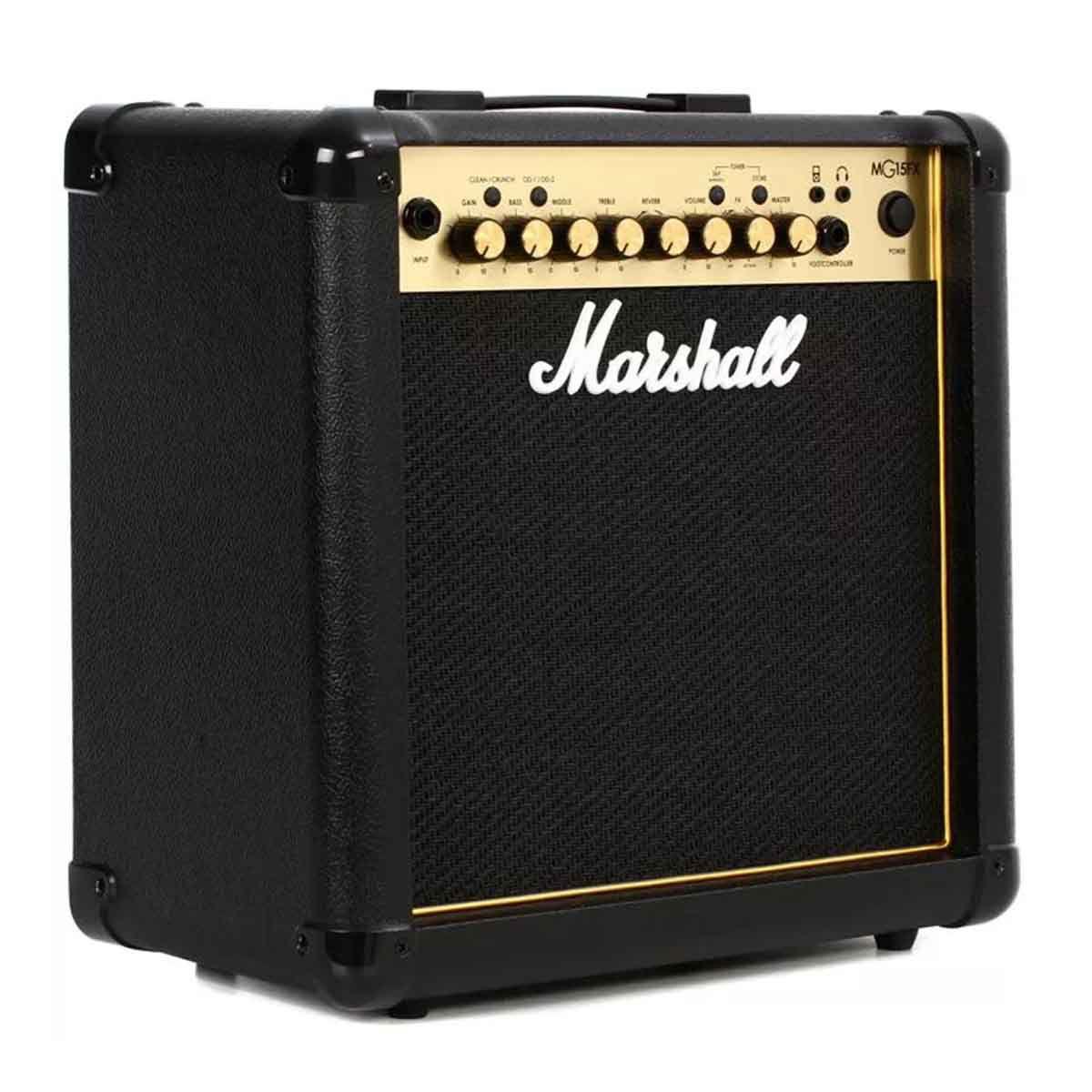 Caixa Amplificada Marshall MG15FX Gold 15W Para Guitarra