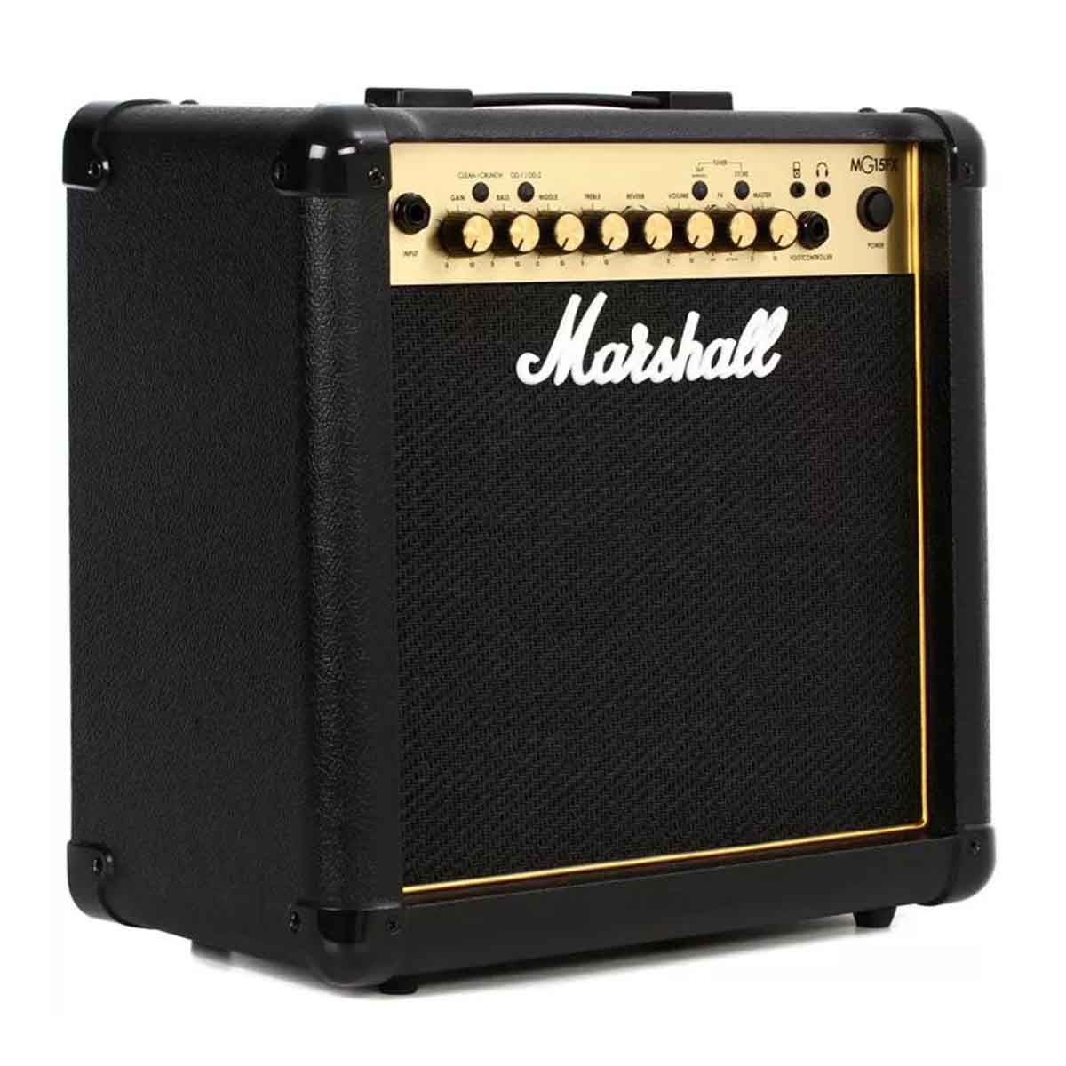 Caixa Amplificada Marshall MG15FX Gold 15W 110V Para Guitarra
