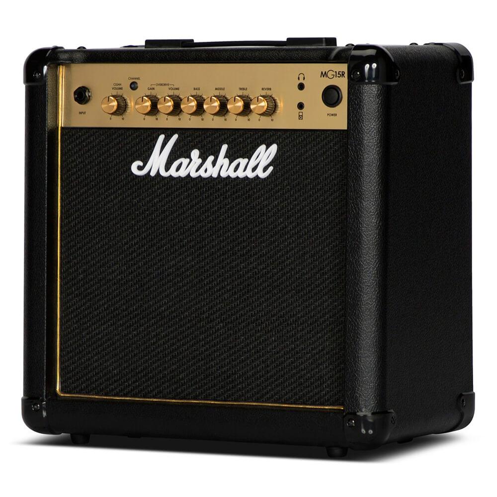 Caixa Amplificada Marshall MG15GR Gold 15W 110v