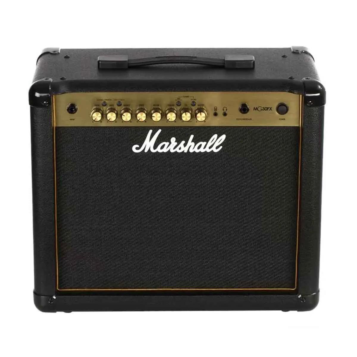 Caixa Amplificada Marshall MG30FX Gold 30W Para Guitarra