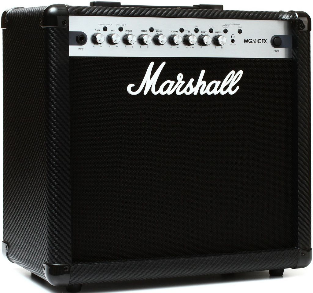 Caixa Amplificada Marshall MG50CFX 50W 1x12 MG Series para Guitarra