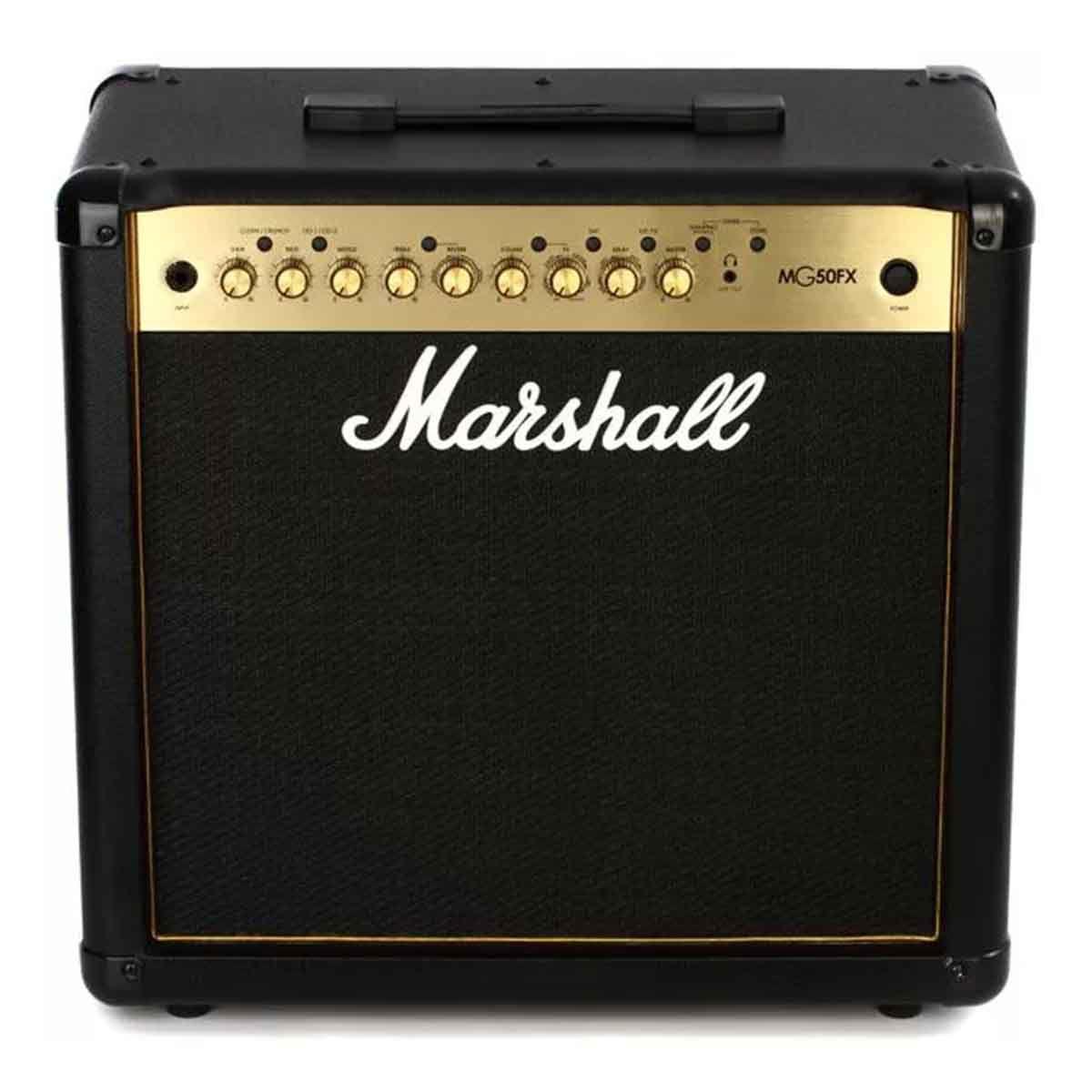 Caixa Amplificada Marshall MG50FX Gold 50W para Guitarra