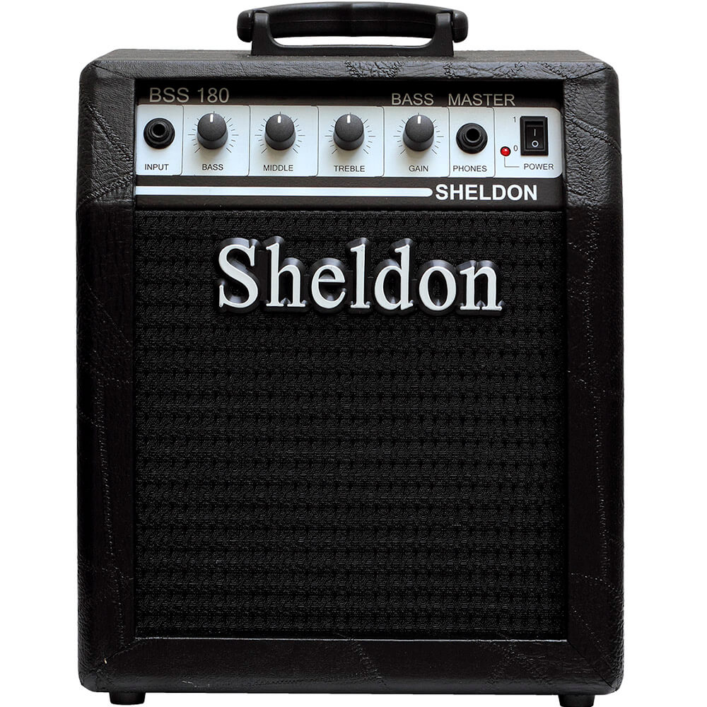 Caixa Amplificada Sheldon BSS180 18W 110/220V P/ Contrabaixo