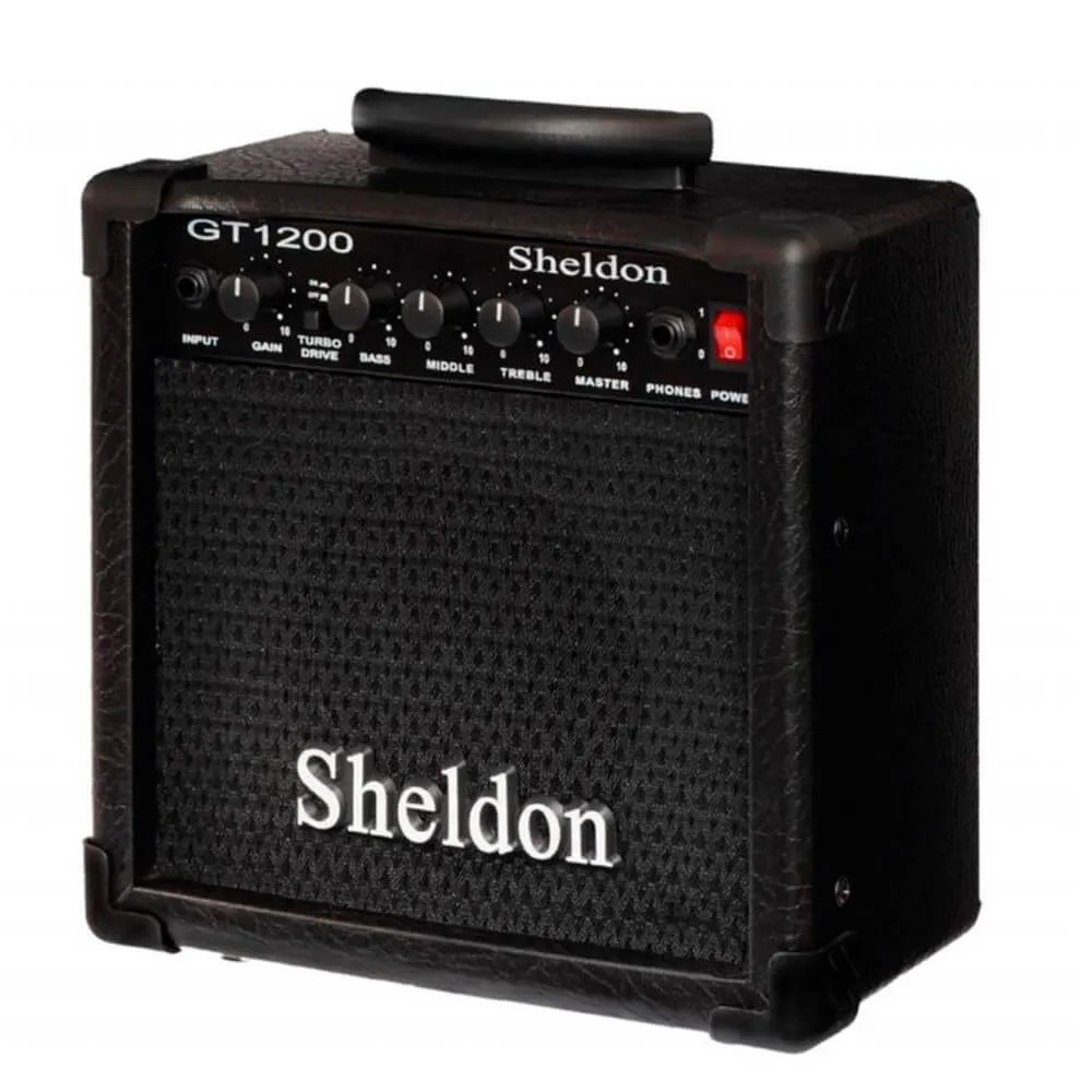 Caixa Amplificada Sheldon GT1200 15W 110/220V para Guitarra