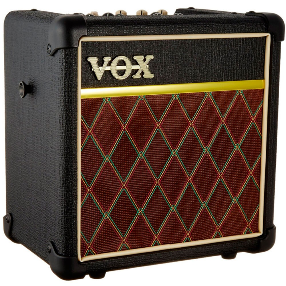 Caixa Amplificada Vox Mini5 Rhythm 5W Classic para Guitarra