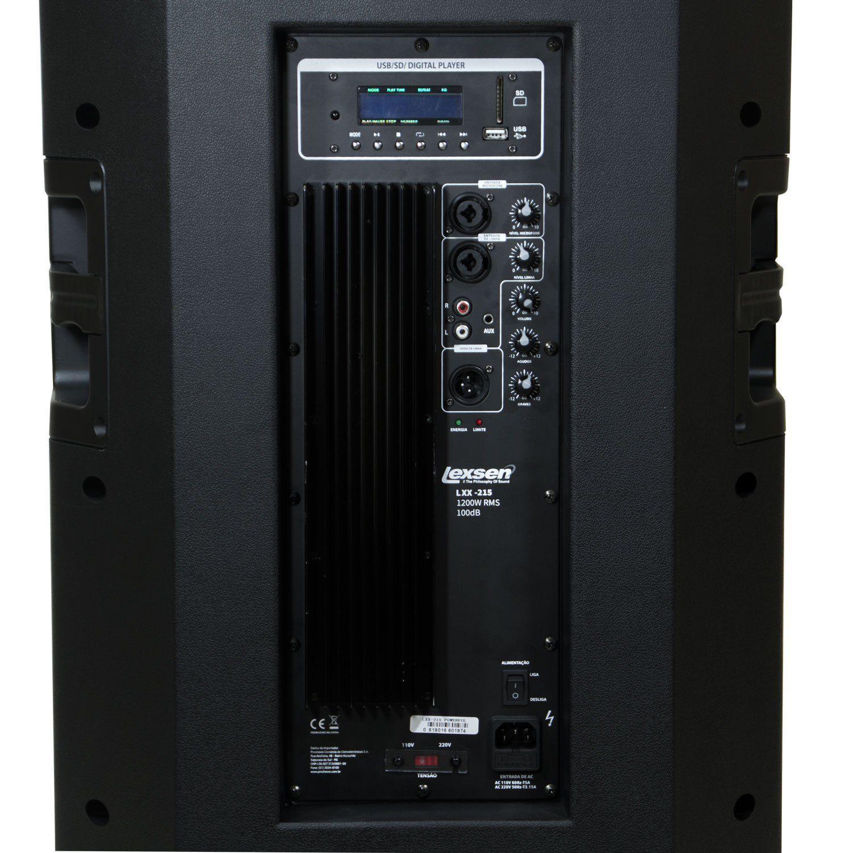 Caixa ativa BiVolt - LXX-215 - Lexsen