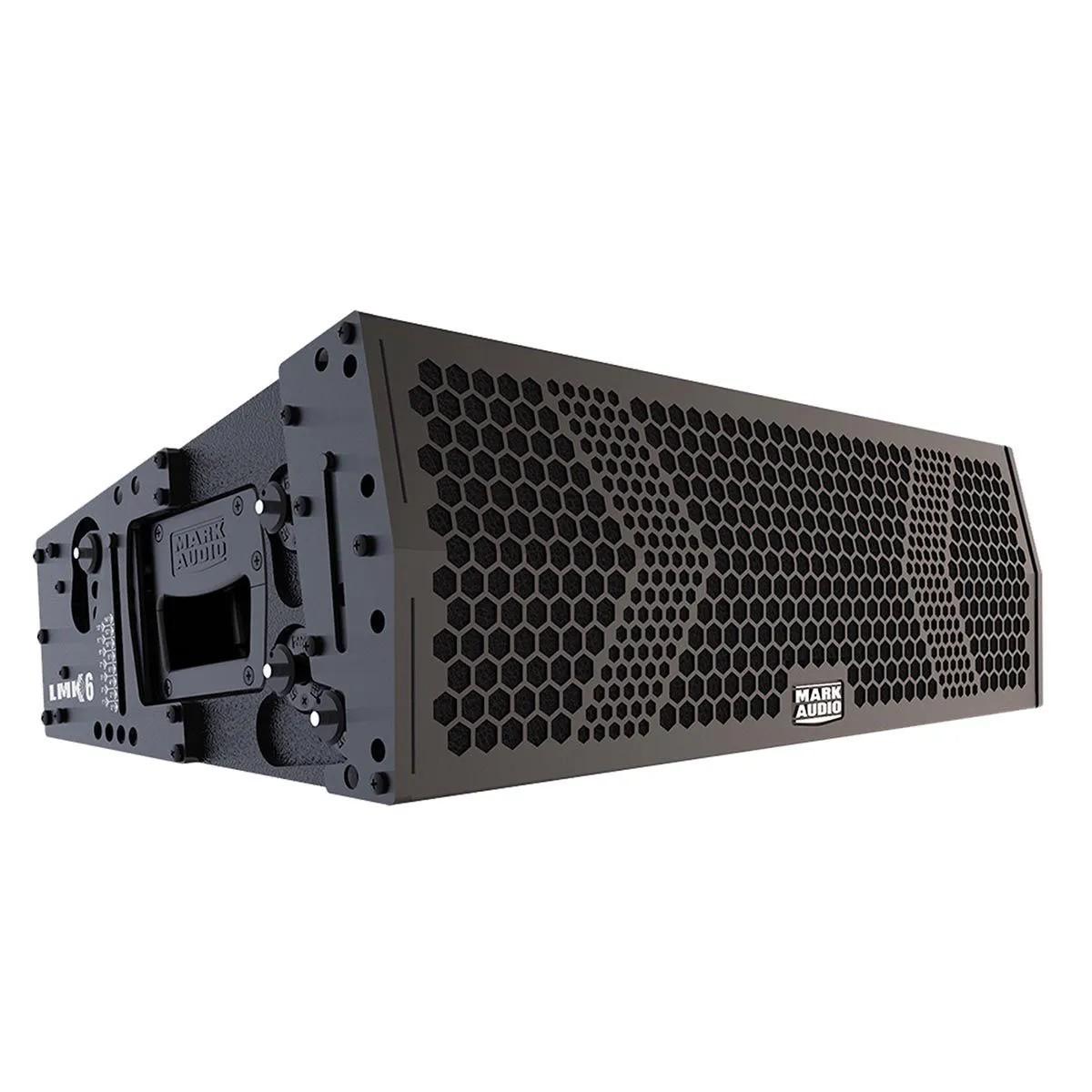 Caixa Line Array Mark Audio LMK6 2x6'' 765W Ativa