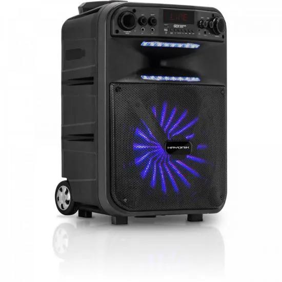 Caixa Multiuso Portátil Bluetooth/MicroSD/USB/FM 200W GO!POWER 300