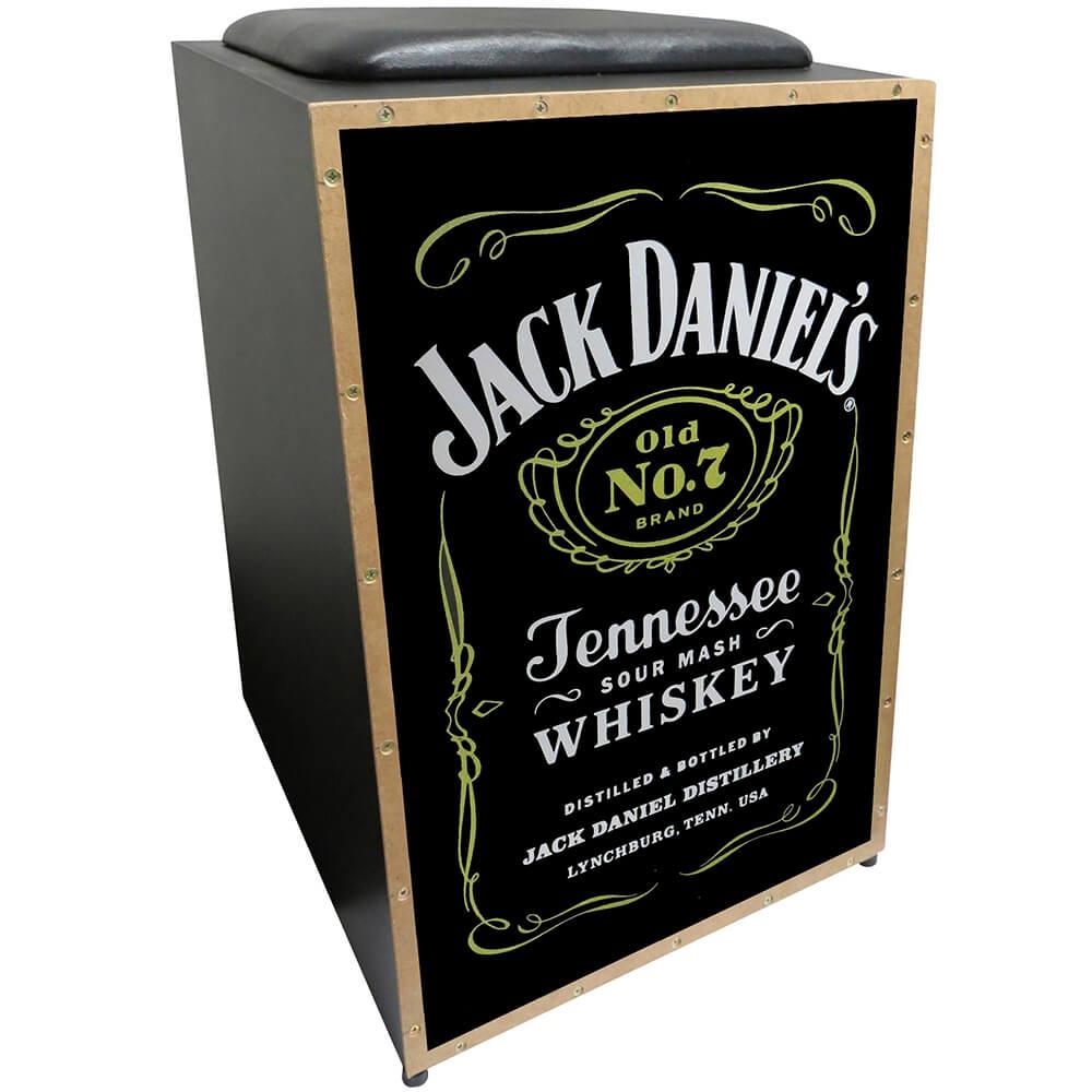 Cajon Acústico Inclinado Jaguar K2 COR-008 Jack Daniels