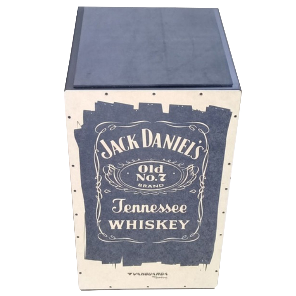 Cajon Acústico Inclinado Vanguarda Jack Daniel's