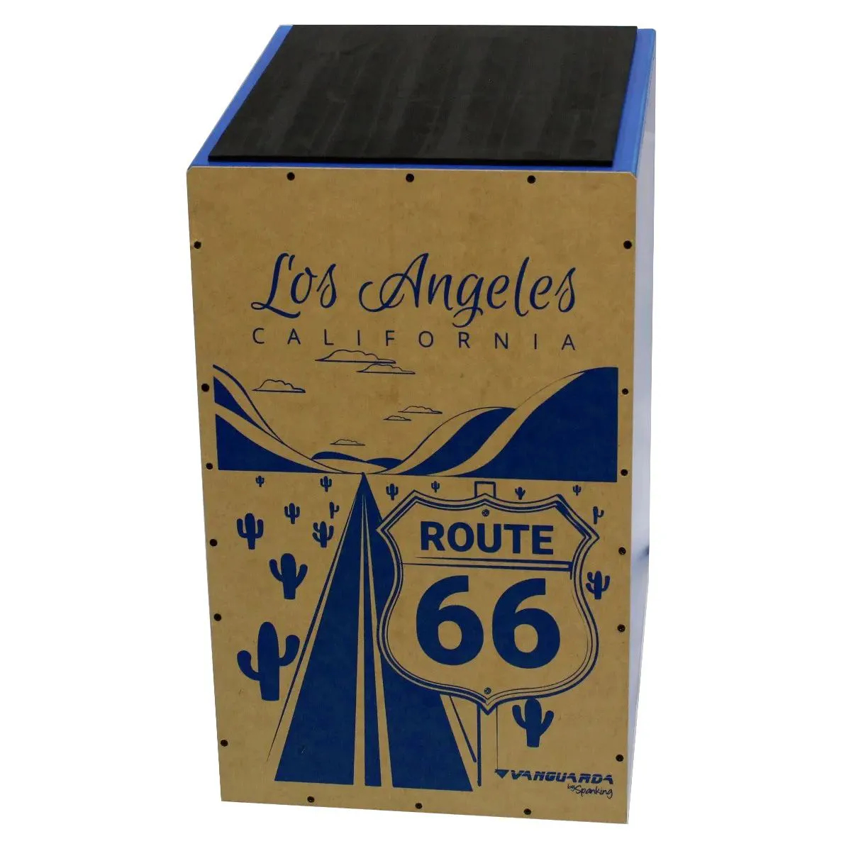 Cajon Acústico Inclinado Vanguarda Route 66