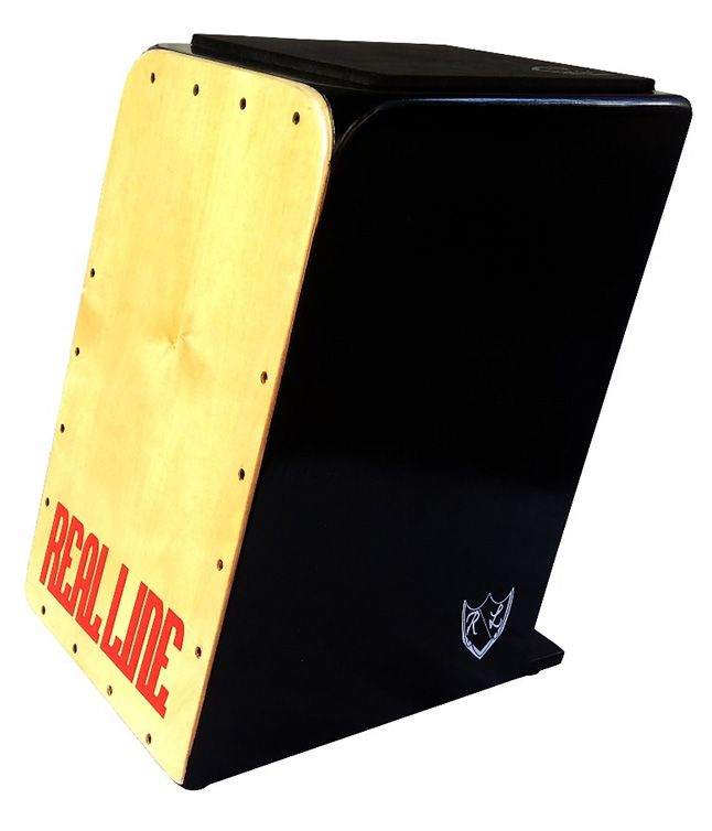 Cajon Inclinado Real Line Turbo Acústico Marfim