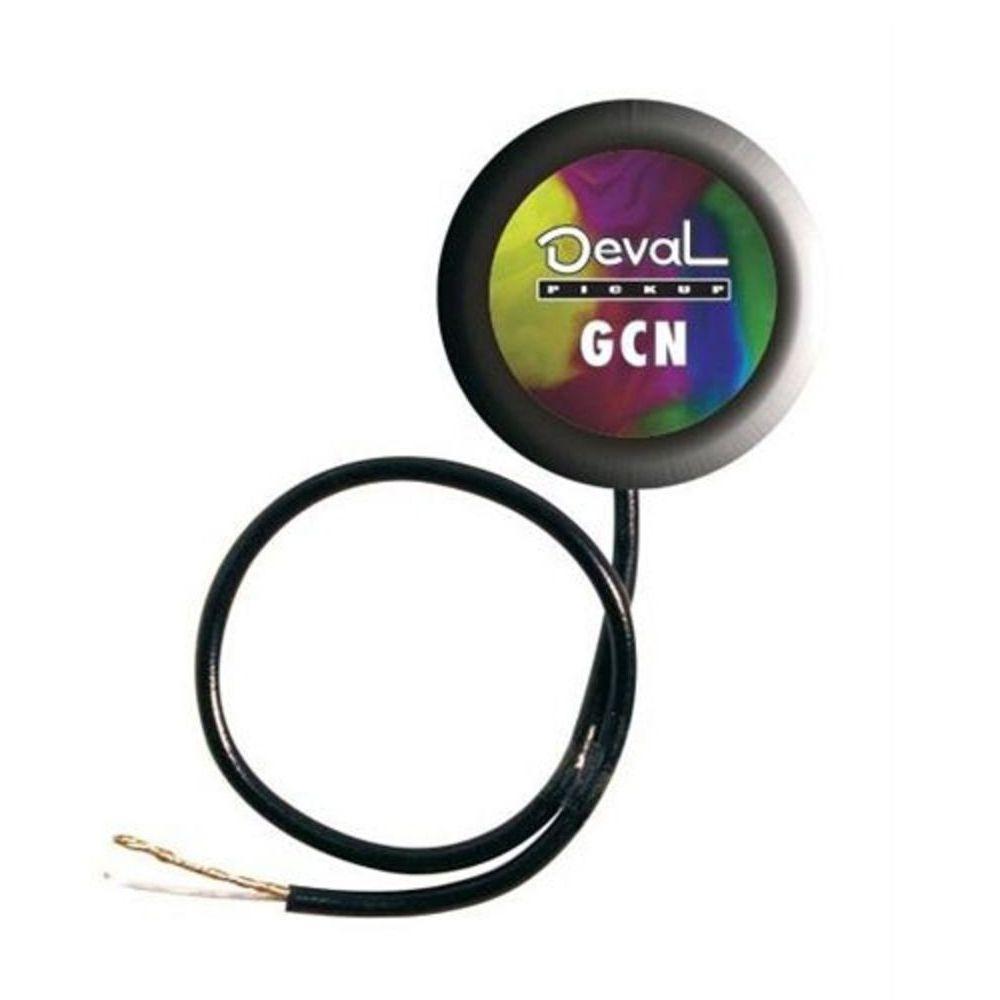 Captador de Contato Simples Deval GCN para Cordas Nylon