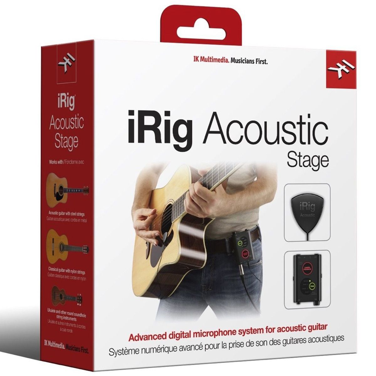 Captador Ik Multimedia iRig Acoustic Stage