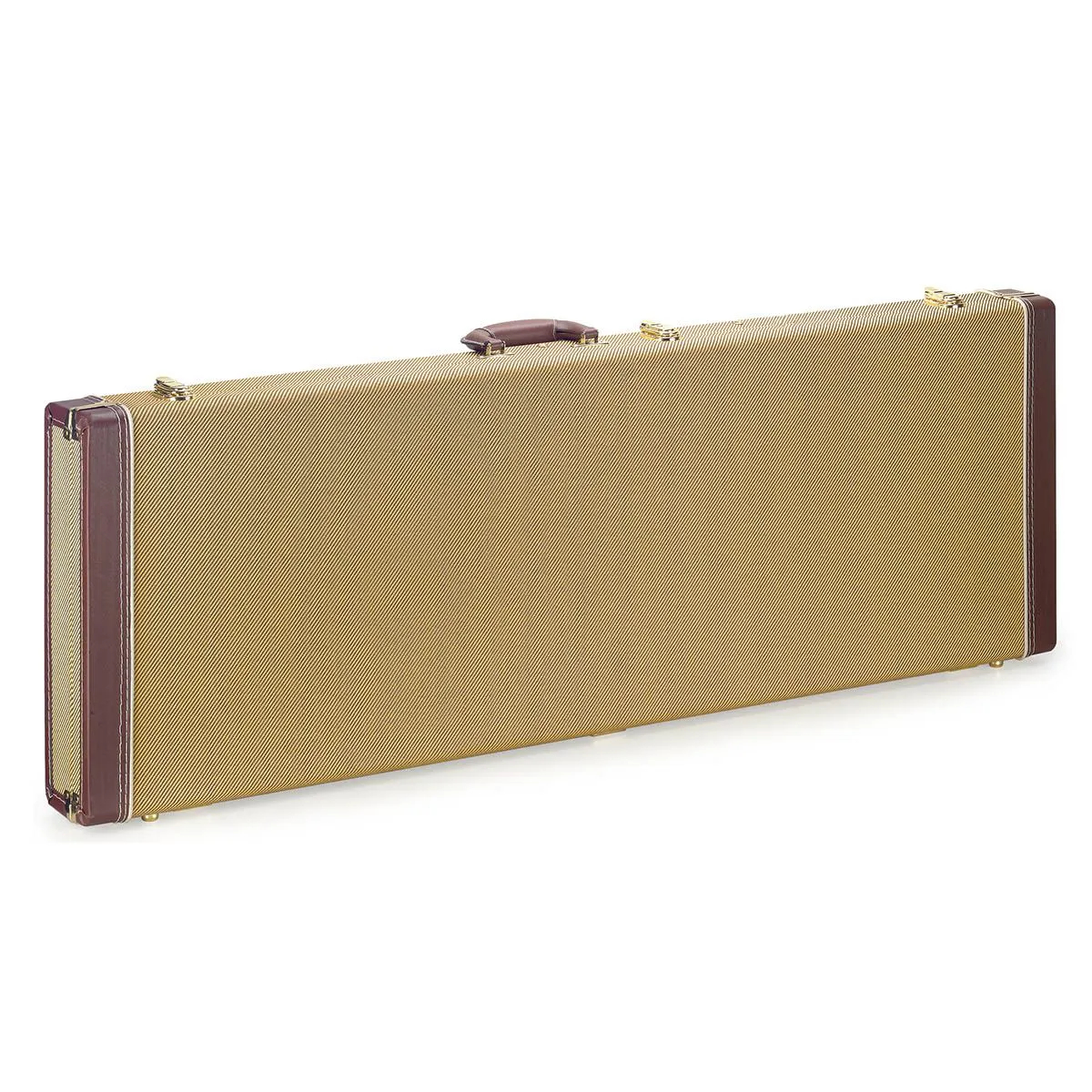 Case Stagg GCX-RE Tweed Deluxe Gold para Guitarra