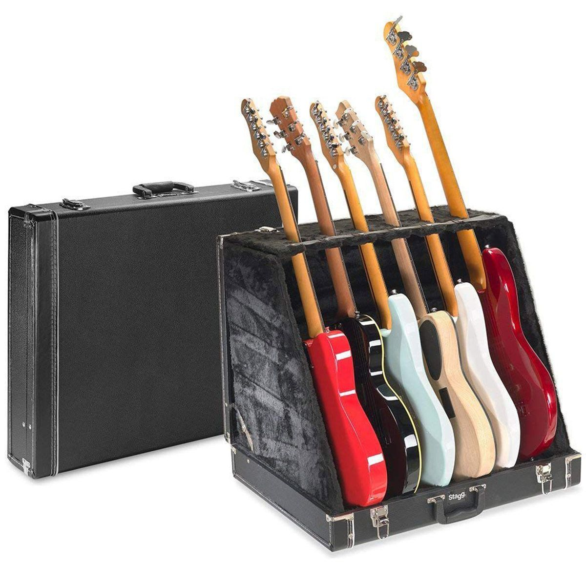 Case Stagg GDC-6 Suporte de Chão para 6 Guitarras