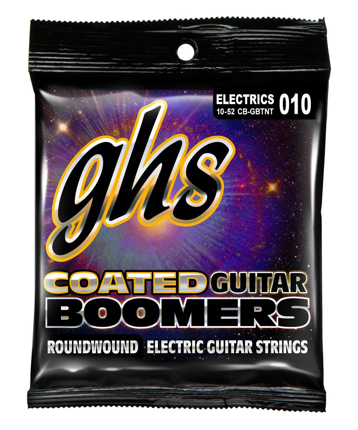 CB-GBTNT - ENC GUIT 6C COATED BOOMERS 010/052 - GHS