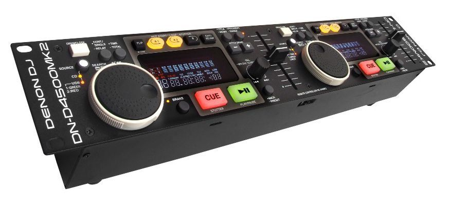 CD Player Digital Denon DJ DN D4500 MKII