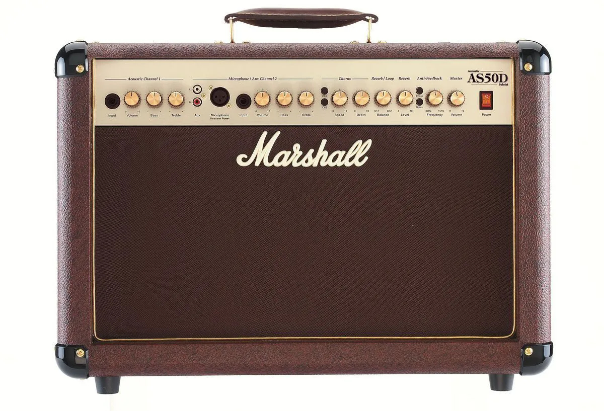 Combo para violao 50W - AS50D - MARSHALL