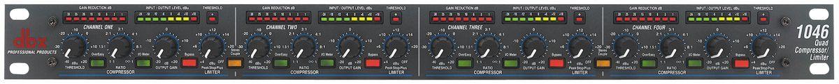 Compressor DBX 1046 Quad Compressor / Limiter 110v