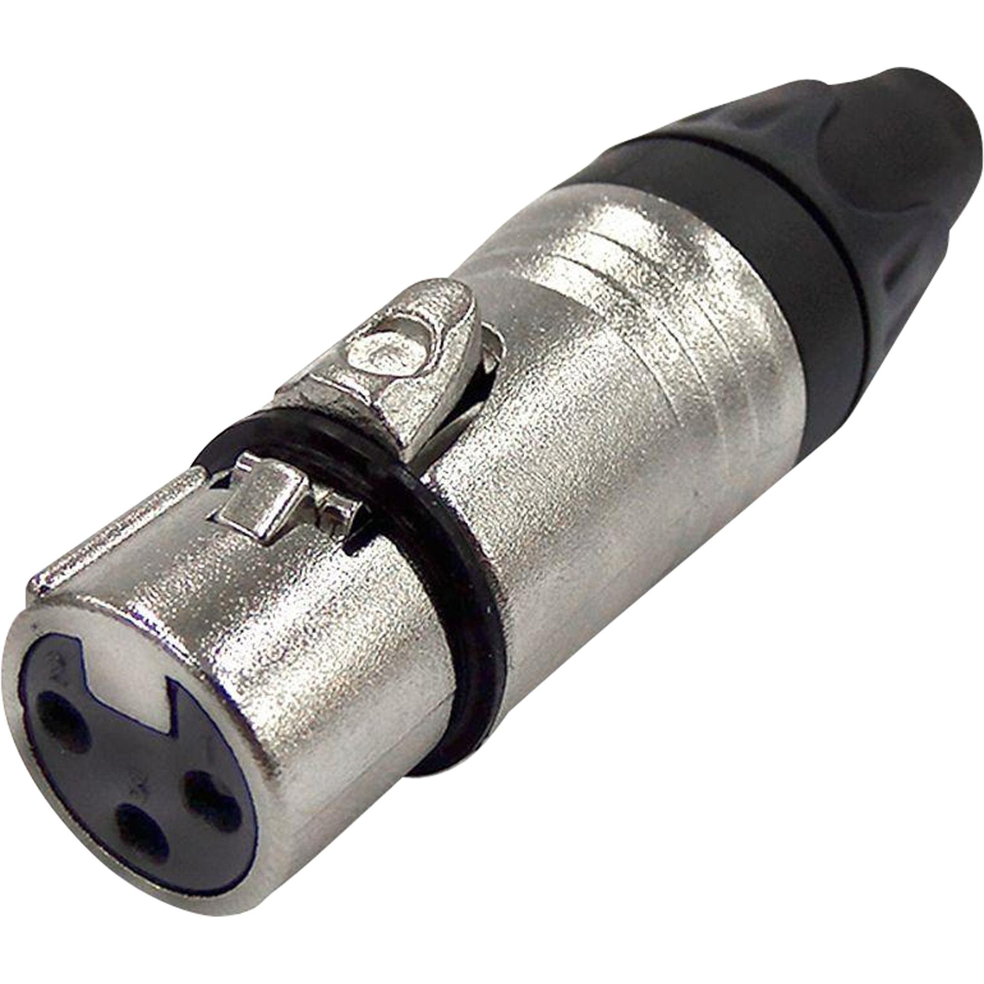Conector Cannon Fêmea 3 Polos Metal JCCN0017 STORM - PCT / 10