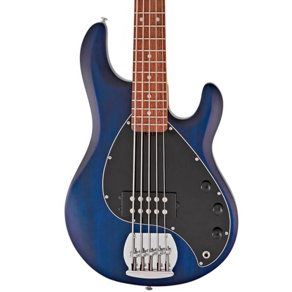 Contrabaixo 5C Music Man Sterling Sub Ray 5 Trans Blue Satin